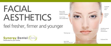 botox facial aesthetics cosmetic dentistry by dentists in facial cosmetics botox dermal fillers synergy dental