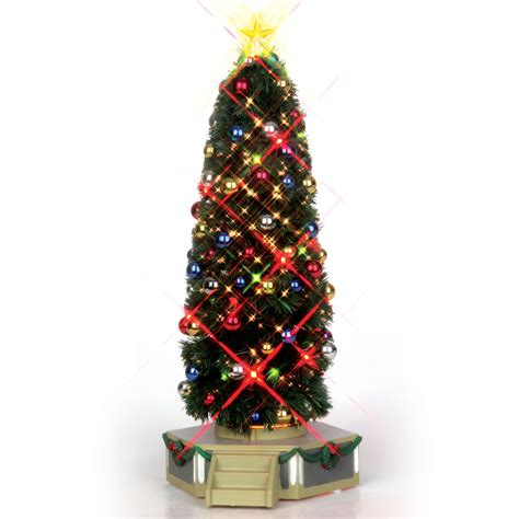 the majestic christmas tree christmas village accessory sears