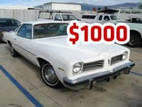 cheap used cars under 1000 dollars   car under 1000 for sale