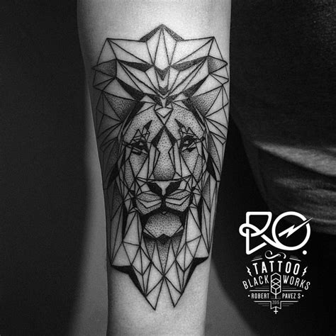 tattoo 3d cube best 25 geometric lion ideas on pinterest geometric