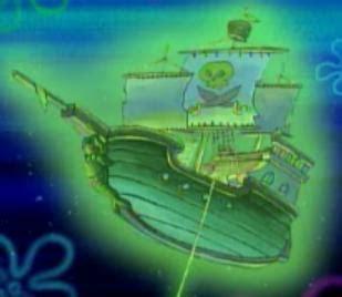 olandese volante spongebob dutchmansghostship