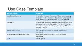 it use template object oriented analysis and design ppt