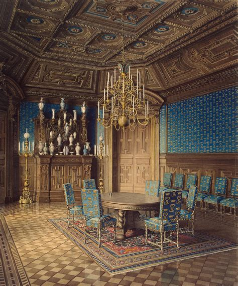 Palace Dining Room by File Mayblum J Palace Of Count P S Stroganov Dining