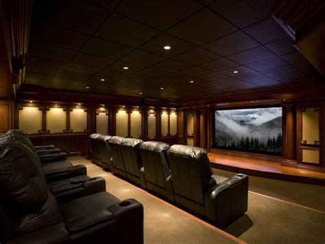 an overview of a home theater design interior design media rooms and home theaters by budget hgtv
