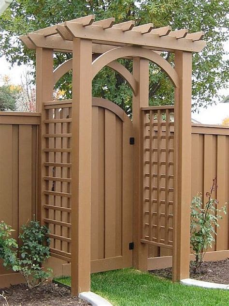 25 best ideas about wood fence gates on fence