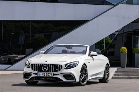 mercedes e63 amg convertible official 2018 mercedes amg s63 and s65 coupe cabriolet