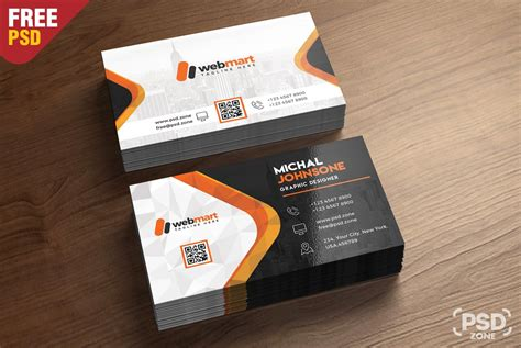 4 side free psd business card templates business card free psd template psd