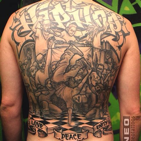 hip hop tattoos hiphop backpiece best ideas gallery