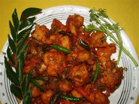 Hebbar S Kitchen Gobi 65 by Hanees Kitchen Gobi Manchurian Cauliflower Manchurian