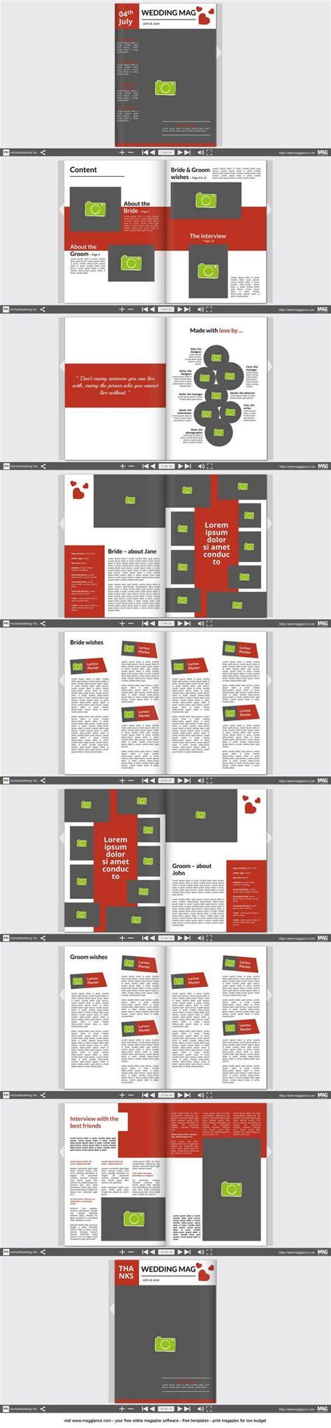 Design Hochzeitszeitung Vorlage the world s catalog of ideas