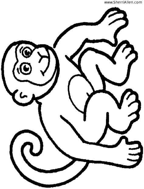 sad monkey coloring page sad gdr colouring pages