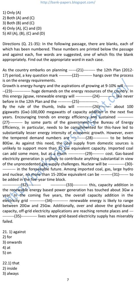 paper pattern ibps po ibps question papers pattern