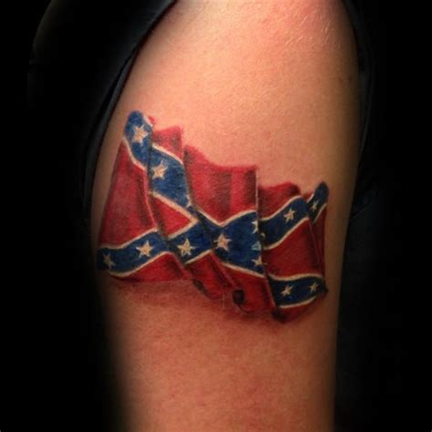 rebel flag tattoo ideas 30 rebel flag tattoos for american revelry design ideas