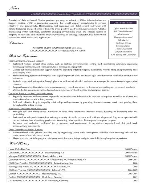 Resume Prime by Entry Level Resume Sles Resume Prime