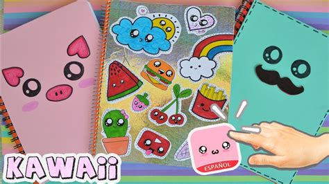 videos de como decorar libretas decora tus libretas kawaii regreso a clases youtube