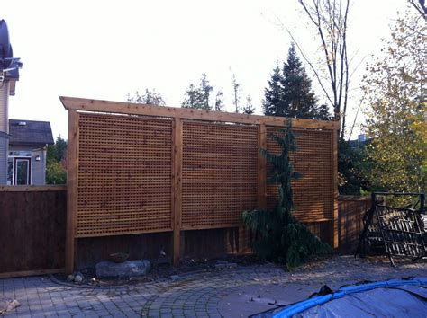 All Access Fence Fabrication Privacy Screens Pergola Privacy Screens