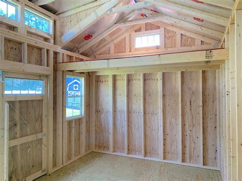 cabin style storage sheds  dormer shed ravenel