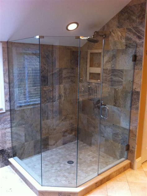 14 Best Custom Showers Images On Pinterest Custom Shower Glass Shower Doors Columbus Ohio