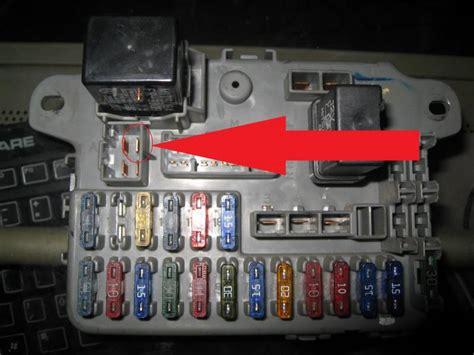 fuse box continuity starter wire honda tech