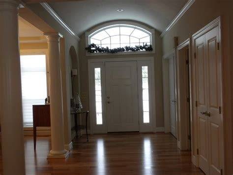 Front Door With Sidelights And Transom Entry Door With Sidelights And Transom Traditional Entry New York By Gerber Homes