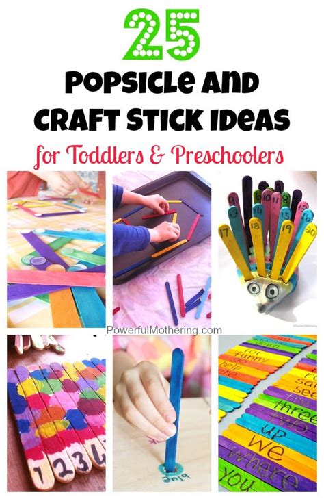 kindergarten activities with popsicle sticks 25 popsicle and craft stick ideas for toddlers and