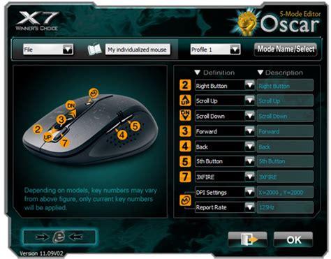 Mouse Macro Razer X7 script setting mouse macro oscar x7 a4tech