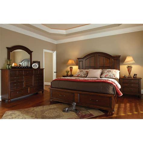 carolina preserves  piece cal king bedroom set