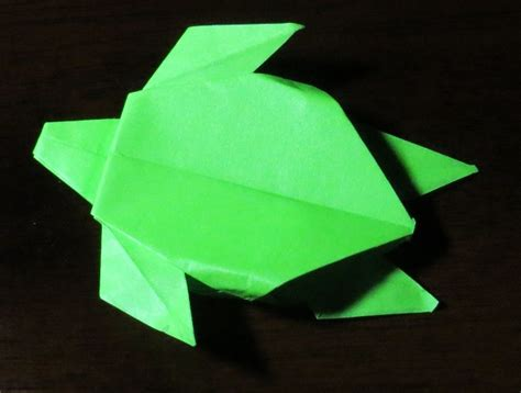 How To Make A Origami Turtle - turtle printable origami