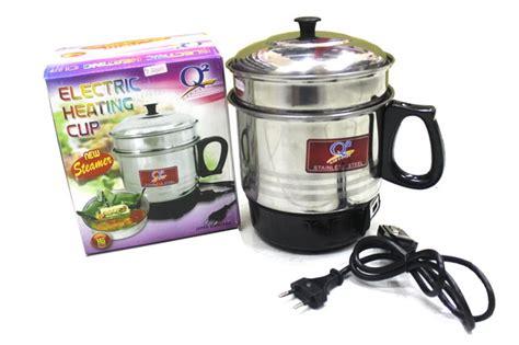 Panci Listrik Q2 jual panci teko listrik mini electric heating cup steamer q2 gm toko jakarta
