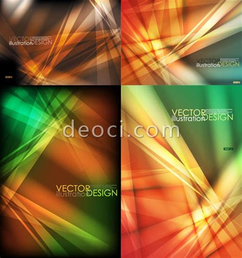 illustrator poster templates vector abstract dynamic beam posters cover background