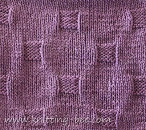 bee stitch knitting free cobblestones stitch and dishcloth knitting pattern