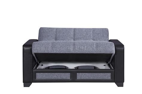Sofa Elit elit form sofa bed in gray fabric by casamode w options