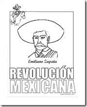 imagenes de la revolucion mexicana para niños faciles dibujos para colorear de la revolucin mexicana car