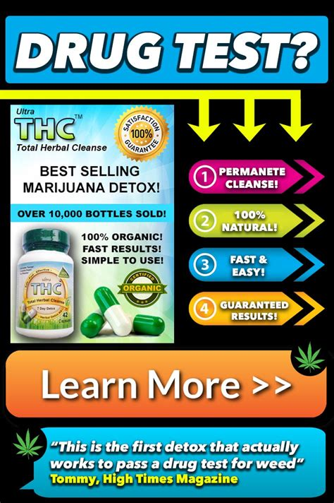 Does Detox Work For Passing Tests by How Detox Pills Work Marijuana Detox Pills Pass A