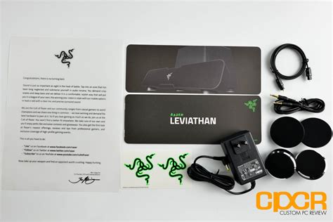 Razer Leviathan 51 Channel Surround Sound Bar review razer leviathan 5 1 channel surround sound bar custom pc review
