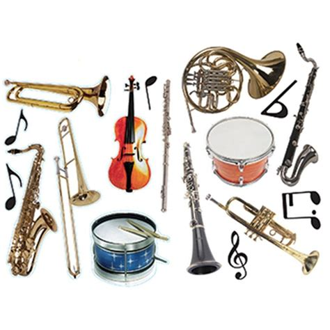 Decorate A Home Office by Musical Instruments 2 Sided Decorating Kit Eu840313 3
