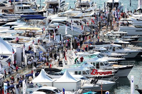 boat show weather southton boat show