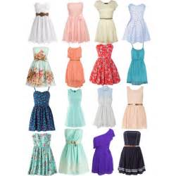 cute summer dresses polyvore