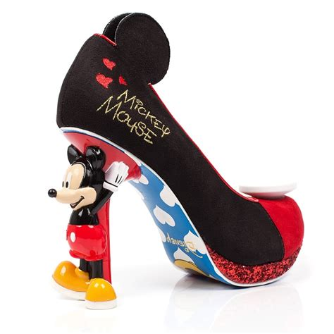 mickey mouse high heel shoes irregular choice mickey mouse friends mickey mouse 4379