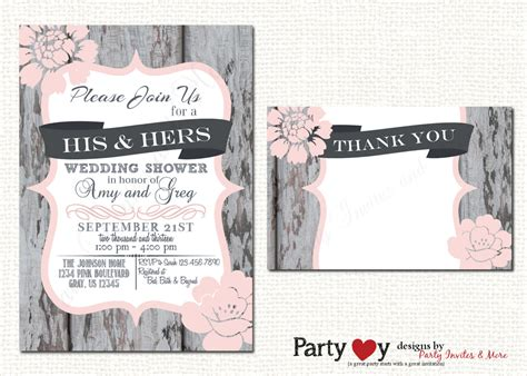 Showers For Couples by S Wedding Shower Invitation Couples Shower