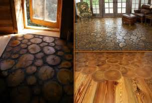log cabin floors end grain wood flooring diy cozy home