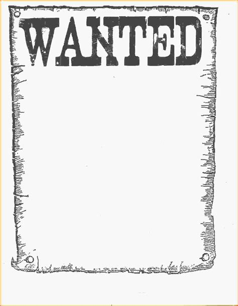 book report wanted poster template template free template wanted poster template wanted