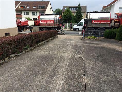 asphaltieren firmen asphalt kleemann einfahrten und hoffl 228 chen