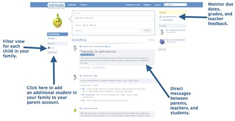 edmodo messaging parent accounts now available