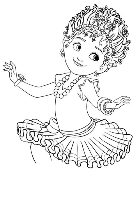 Fancy Girl Coloring Pages - Coloring Home