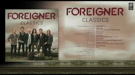 best of foreigner the best of foreigner quot foreigner classics quot album medley