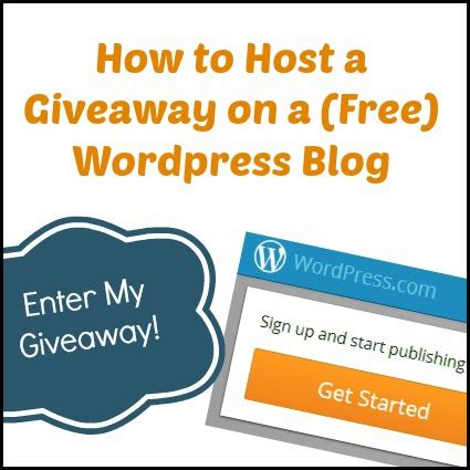 How To Do Blog Giveaways - how to host a giveaway on a free wordpress blog zephyr hill