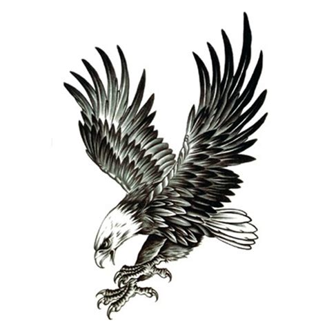 28 flying eagle tattoos designs