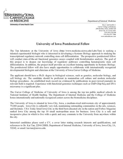 cover letter design great ideas postdoc cover letter