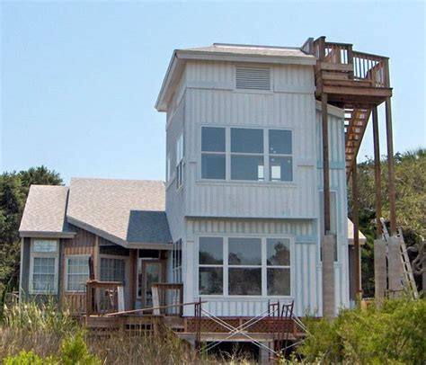 deck house plans rooftop observation deck beach house plan alp 09a0